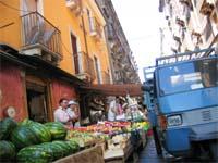 アントニオ・ショットで撮影!カターニャの市場