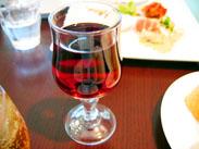 ランチ用ミニグラスワイン