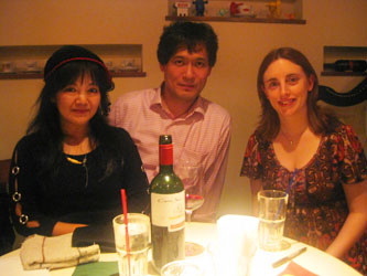 Granne Hambly with 守安功&雅子