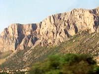 シチリア北西部のダイナミックなパノラマ